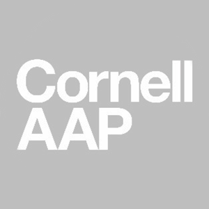 Cornell AAP logo text on gray background
