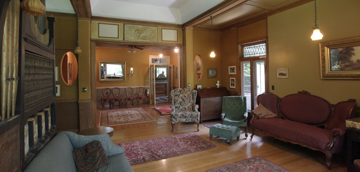 Drawing Room in the Miller-Heller house