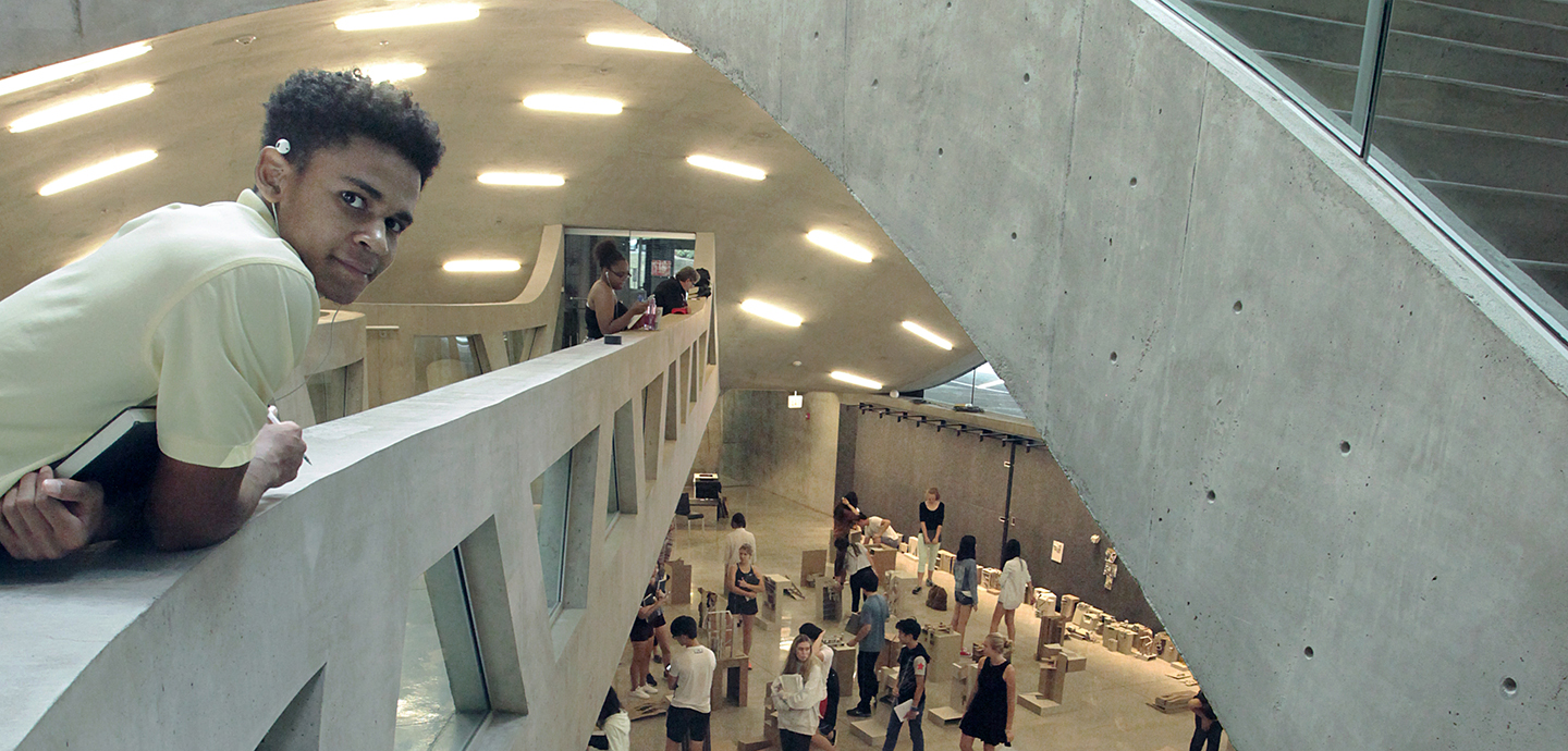 Students' presentation of models in the Milstein Dome