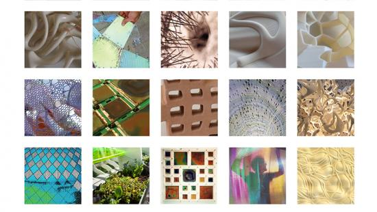 Grid of photos past projects