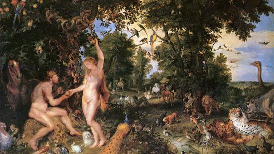 'The Earthly Paradise with the Fall of Adam and Eve', Peter Paul Rubens, Jan Brueghel