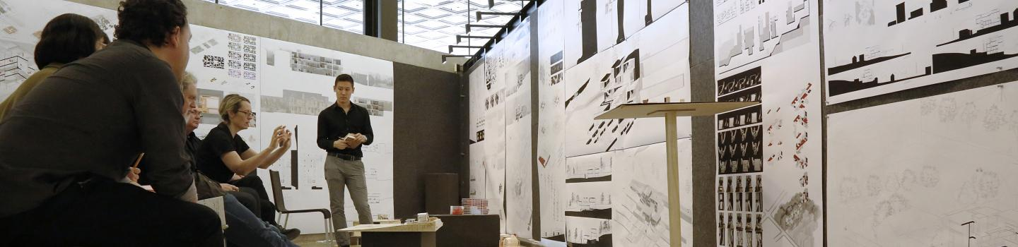 First-year M.Arch. review