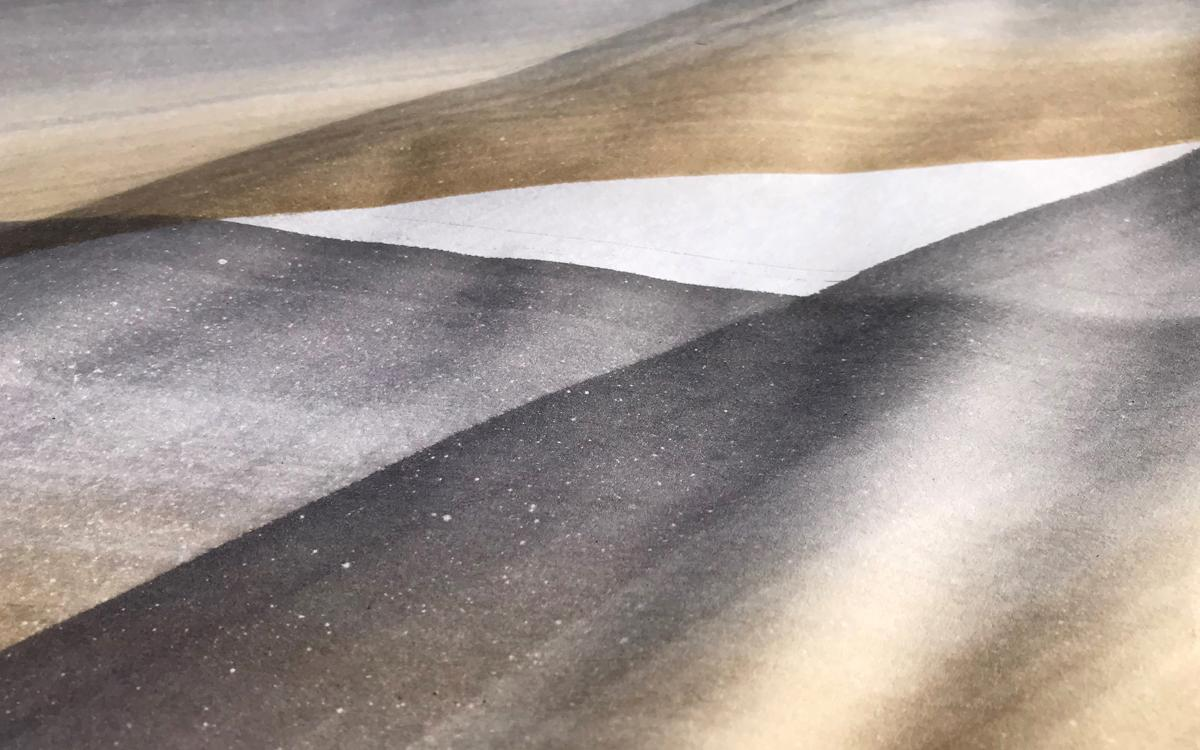 watercolor of grey gold and white gradient
