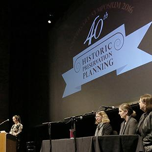 Panel at HPP 40th Anniversary Event