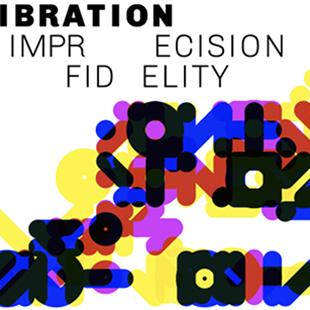 colorful graphic with Recalibration on Imprecision and Infidelity written