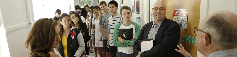 CRP undergraduate students and professors