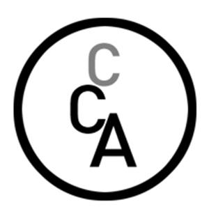circular logo with the letters CCA in the middle