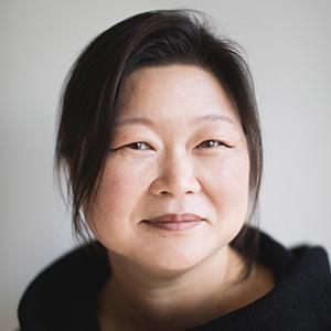portrait of a woman wearing a black shirt