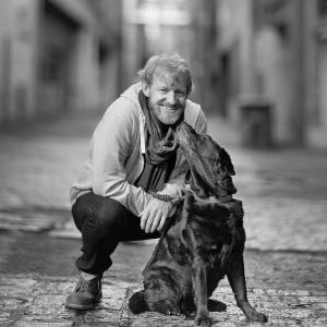 Photo of Michael Green and dog