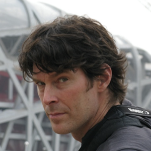 man with dark hair