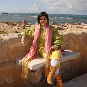 Judith Di Maio Portrait in Sabbratha Libya