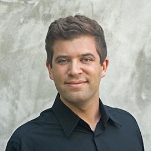 portrait of a man wearing a black shirt