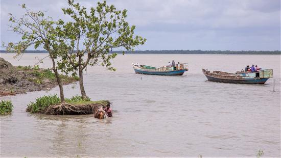 Coastal flooding in Bangladesh