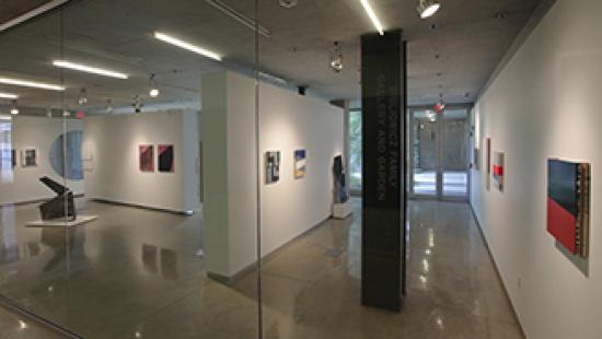 Anthony Titus exhibition: Surface Mining, in the Bibliowicz Family Gallery