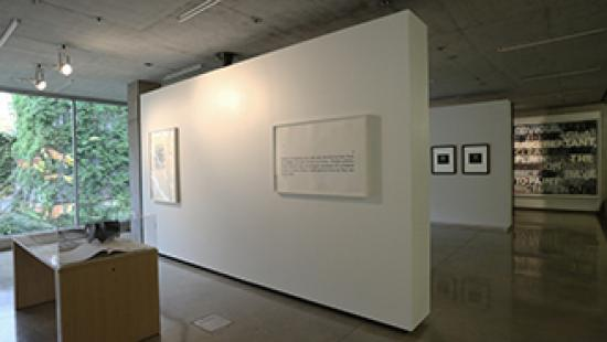 Print Text Language exhibition in the Bibliowicz Family Gallery