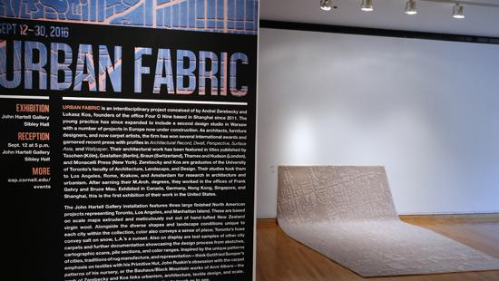 Urban Fabric Exhibition