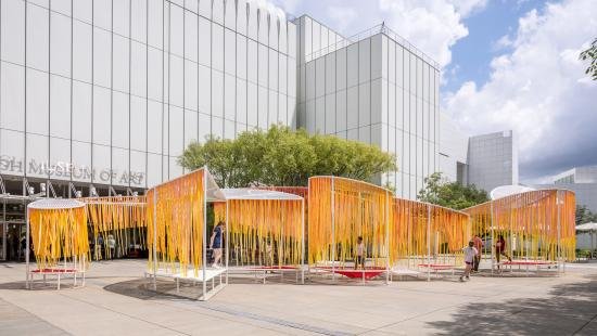 Bryony Roberts Studio, Outside the Lines, High Museum of Art, 2021, Photo by Jonathan Hillyer