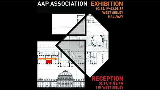 Poster for AAP Association exhibition