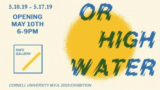 Poster for Or High Water exhibition