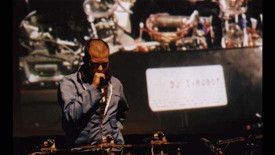Chris Csikszentmihalyi and DJ, I Robot Sound System at Transmediale, Berlin
