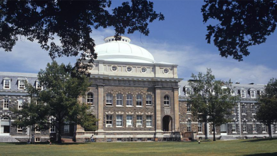 photo of building with white dome structure