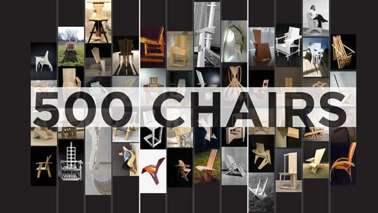 Collage of chairs
