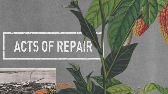 Preston H. Thomas Symposium mural Acts of Repair