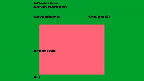 Sarah Workneh: Artist Talk