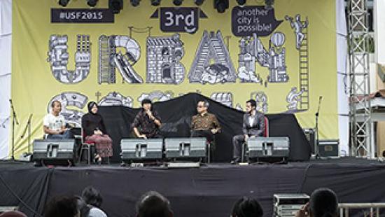 Urban Social Forum in Surabaya, Indonesia.