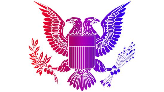 graphic of two headed eagle