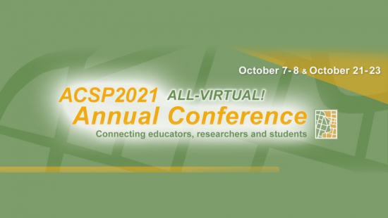 CRP Well Represented at Upcoming ACSP Conference