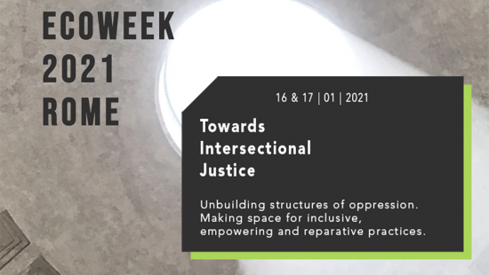 Ecoweek 2021 event poster