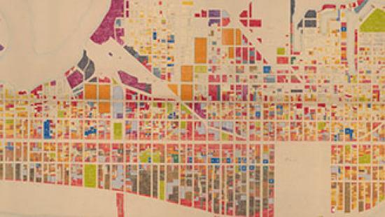 1966 land use map of Atlantic City