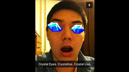 Vince Chong: Crystal Eyes. Crystallize. Crystal Lies.