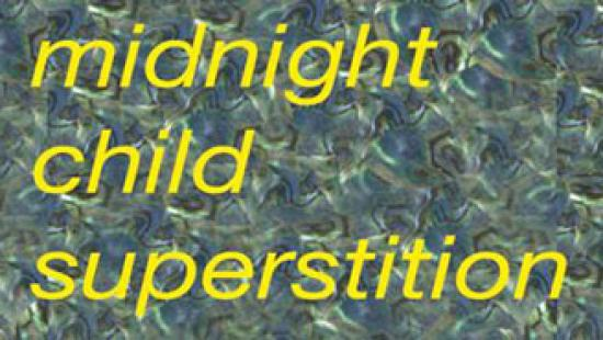 Midnight Child Superstition invitation