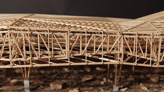 Model by Catie Ely (B.Arch. '18), Ruby Kaur (B.Arch. '18)