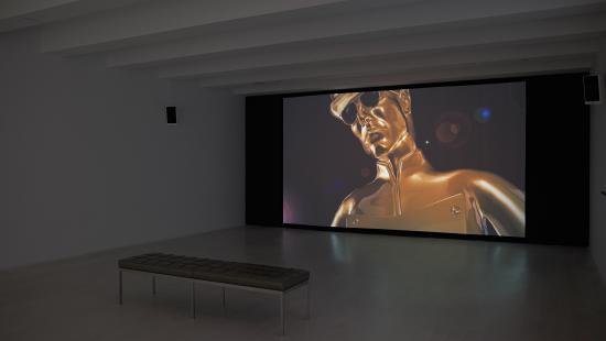 Gold Man Screen