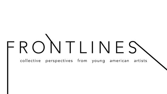 Frontlines exhibition logo