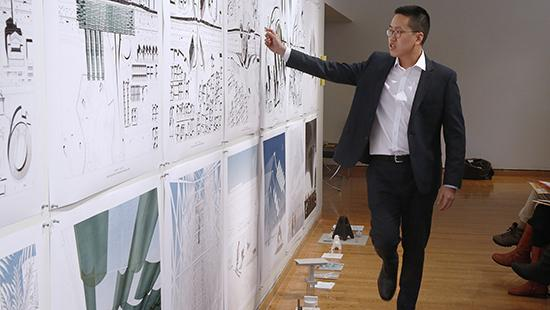 Spring 2018 B.Arch. thesis review