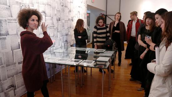 Samia Henni: Discreet Violence: Architecture and the French War in Algeria, exhibition reception and talk, spring 2019