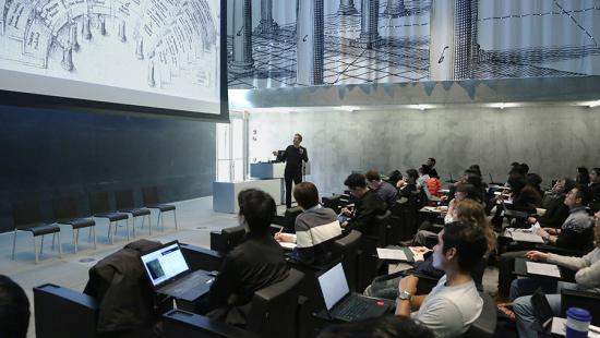 Preston Thomas Master Class with Strauch Visiting Critic in Sustainable Design Philippe Rahm: