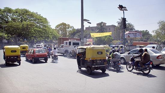 Traffic in India. photo / By Eirik Refsdal from Trondheim, NORWAY (Insanity Defined)