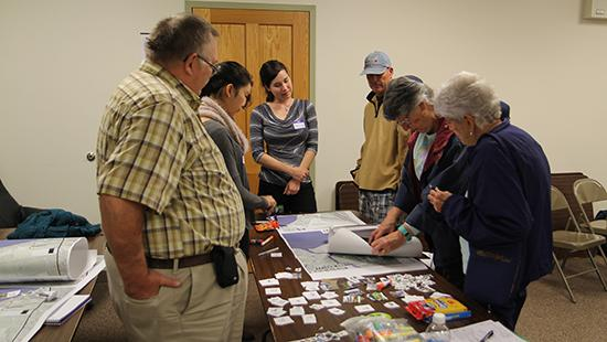 Design Connect's Town of Urbana team held several community meetings to gather input from residents