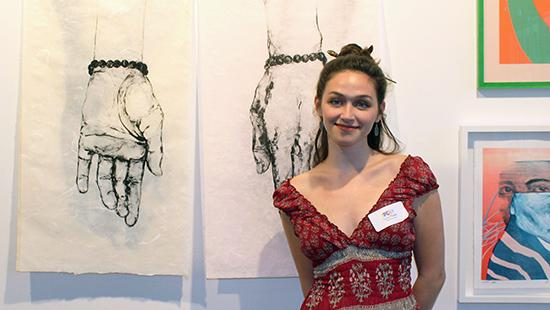 Lucy Plowe (B.F.A. '20) at IPCNY gallery show