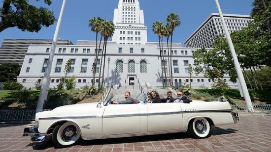 Los Angeles Parade car