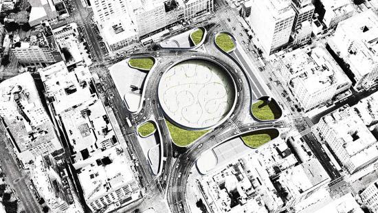 St. John's Park, design by Ballman Khapalova