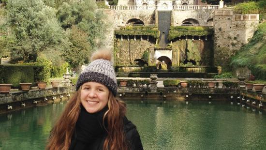 Daniela Cardenas in Italy