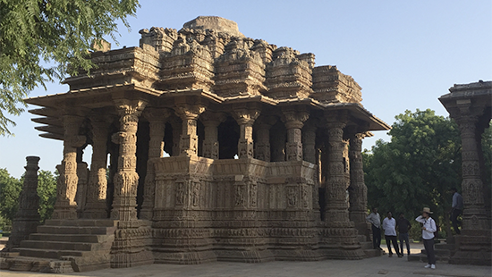M.Arch. students travel to India with their expanded practice studio
