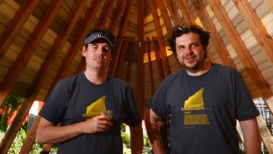 Jason Austin and Alex Mergold