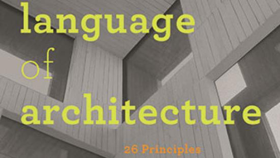 Langauge of Architecture book cover